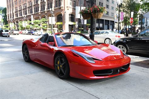 Used 458 Spider by Used 2014 458 Spider For Sale Special Pricing