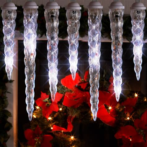 twinkling icicle lights on winlights com deluxe interior