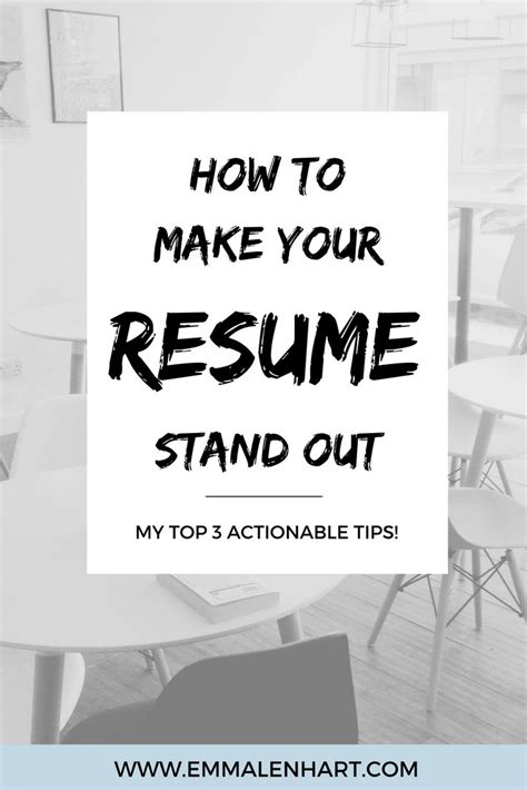 How To Make An Resume Stand Out by Resume Are You Looking To Get A New Find Out How To Make Your Resume Stand Out Amo