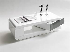 Couchtisch Grau Weiß : dreams4home couchtisch clou hochglanz wei grau 120 x 60 ~ Lateststills.com Haus und Dekorationen