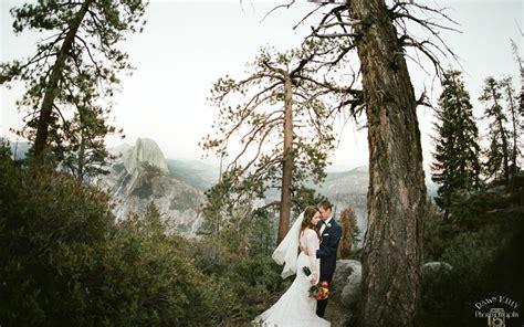 Intimate Swinging Bridge Yosemite Wedding