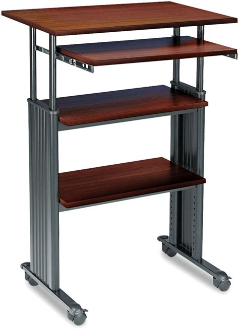 standing desk height stand up desk safco products muv stand up adjustable