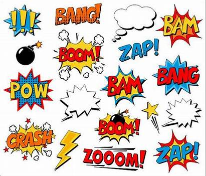 Clip Superhero Comic Clipart Text