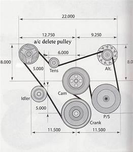 Chevy 350 V Belt Diagram