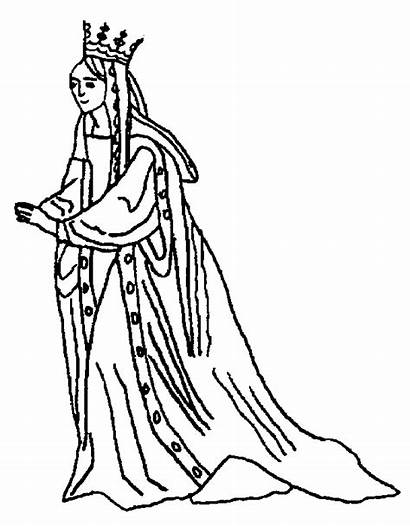 Queen Coloring Pages King Esther Clipartpanda Clipart