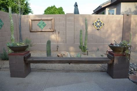 diy cinder block bench   garden creative ideas   patio
