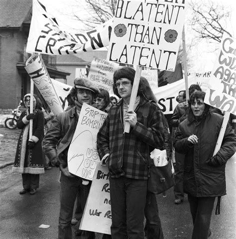Against The demonstration against the war nov 6 1971