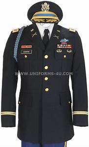 US ARMY DRESS BLUE ASU OFFICER JACKET