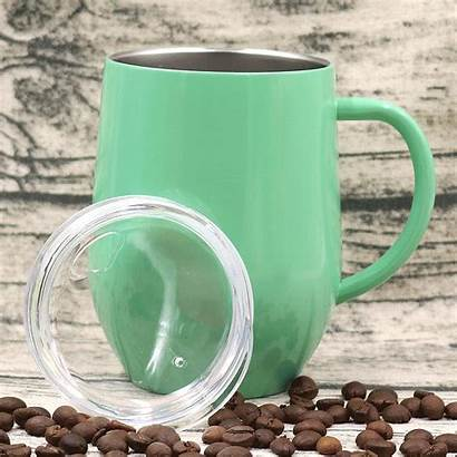 Handle Stainless Cup Wine Egg Glass Coffee