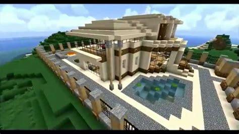 modern minecraft mansion map  youtube