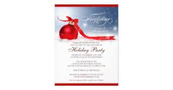 corporate holiday party invitation template zazzle