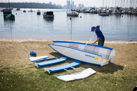 Folding Boat And Trailer by Quickboats Folding Boats No Trailers No Storage Hassles