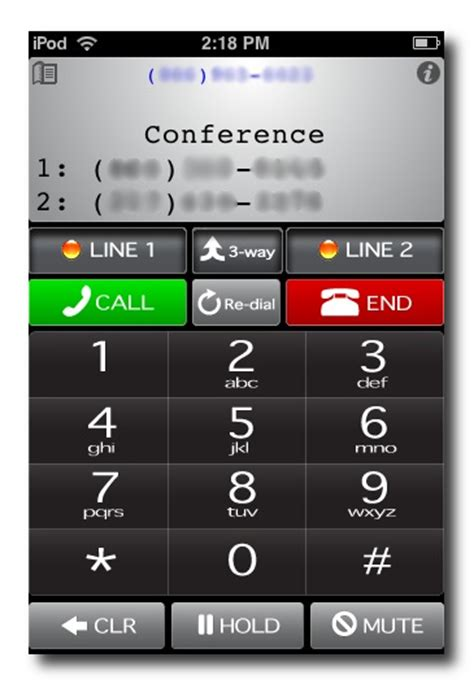 iphone three way call start a three way call iphone ipod touch whistle 15484
