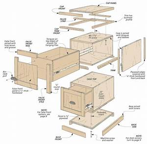 Modular File Cabinets Woodsmith Plans