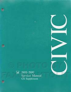 Repair Manual Honda Civic 1998