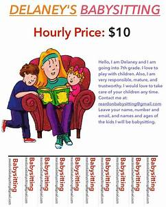 10 best babysitting flyer template images on pinterest With babysitting poster template