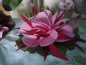 Fleur En Papier Serviette : de jolies fleurs avec des serviettes en papier les p 39 tites mains bricoleuses ~ Melissatoandfro.com Idées de Décoration