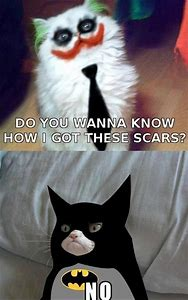 Grumpy Cat Meme Joker Batman