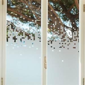 Stickers Pour Vitre : sticker occultant pour vitre et fen tre pixels ~ Melissatoandfro.com Idées de Décoration