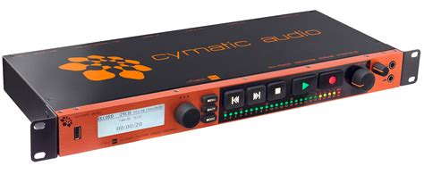 rack mount digital recorder cymatic utrack24 rackmount 24 in 24 out recorder player