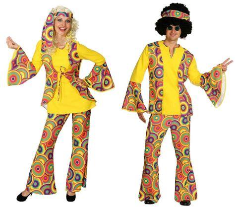 80er motto 70er 80er jahre kleid kost 252 m flowerpower herren hippie motto disco anzug ebay