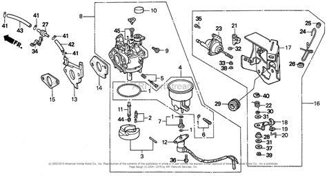 Honda Emx Generator Jpn Vin Parts