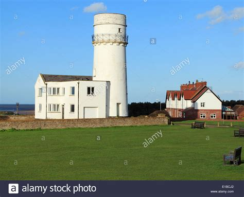 Old Hunstanton Lighthouse And Coastguard Cottages Norfolk