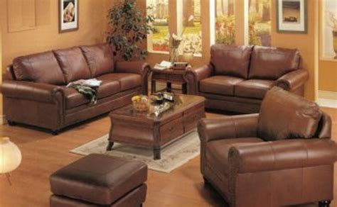 Brown Leather Sectional Living Room Ideas by Too Much Brown Furniture A National Epidemic Lorri