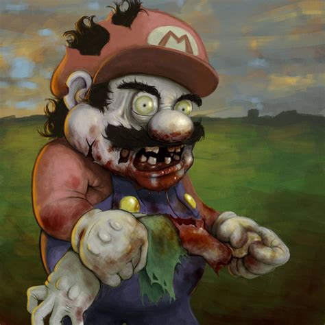 Zombie Mario Cotmzombie By Anroll On Newgrounds
