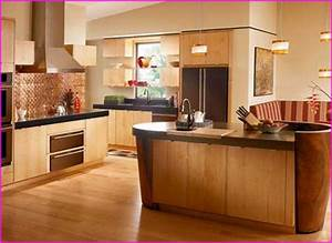 best kitchen colors best kitchen paint colors for oak With what kind of paint to use on kitchen cabinets for bright colored wall art
