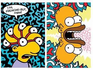 Simpsons Pop Art Discussion