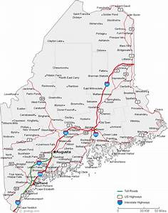 My Blog  Map Of Maine