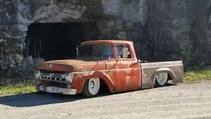1957 Ford F100   Cummins Turbo Diesel   Rat Rod  Street