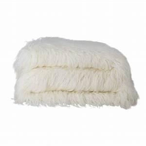 Plaid Blanc Fourrure : plaid fourrure kodiac blanc now 39 s home d co en ligne plaids ~ Teatrodelosmanantiales.com Idées de Décoration