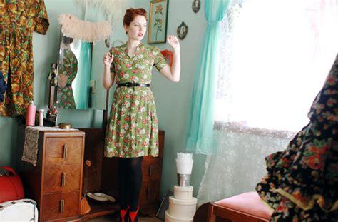 tendance cuisine le style rétro vintage tendances mode automne hiver 2012
