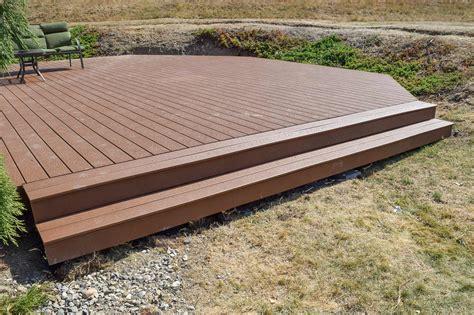 Installing Trex Decking by Trex Deck Estate Fence Installation Ajb
