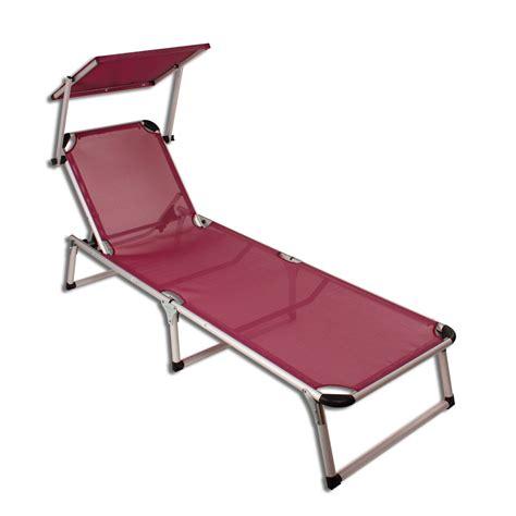 chaise plage alu chaise longue avec pare soleil plage chaise longue de