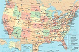 The United States Interstate Highway Map | Mappenstance.