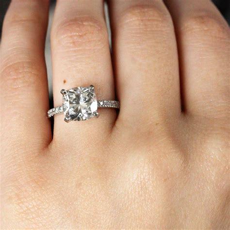 cushion cut engagement rings no halo raymond jewelers blog raymond jewelers blog