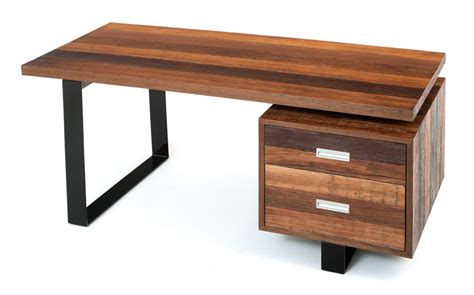 rustic wood office desk soft modern desk contemporary rustic desk reclaimed wood
