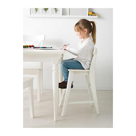ingolf junior chair white ikea