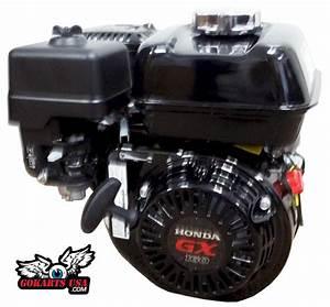 Honda Gx160 5 5hp Ohv Powersport Engine  Black