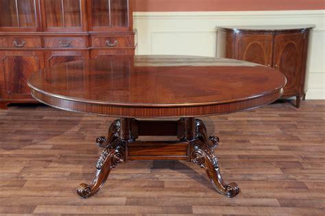dining table mahogany mahogany table w walnut color finish high end ebay 3335