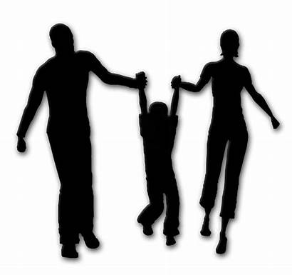 Silhouette Son Vector Hold Holding Mother Hands