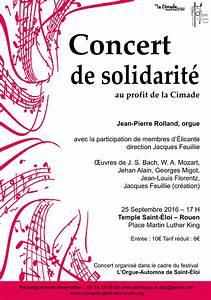 Concert De La Region 2016 : concert de solidarit au profit de la cimade le 25 septembre 2016 17h temple st loi rouen ~ Medecine-chirurgie-esthetiques.com Avis de Voitures