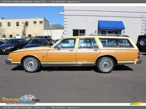 1980 Buick Lesabre by 1980 Buick Lesabre Estate Wagon Yellow Photo 8