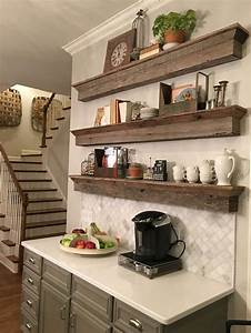 9 diy coffee bar ideas and inspiration at home decoration for What kind of paint to use on kitchen cabinets for tea and coffee wall art