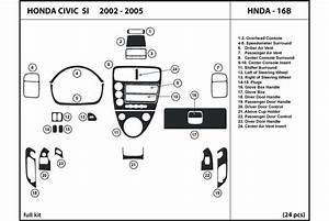 2004 Honda Civic Dash Kits