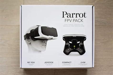 parrot bebop  fpv test du drone de parrot avec casque vr