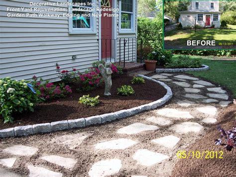 Front Yard Landscape Design Ideas, Ma landscape Makeover